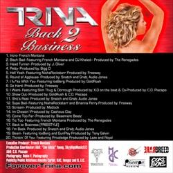 Trina Back 2 Business Back Cover