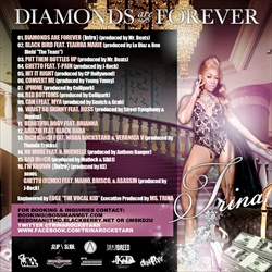 Trina Diamonds Are Forever Back Cover