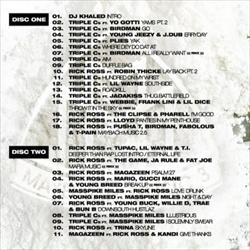 Triple C's White Sand CD 1 Back Cover