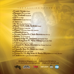 DJ Triple Exe The Passion of R&B 44 Back Cover