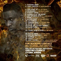 Turk (Hot Boys) Reflamed Back Cover