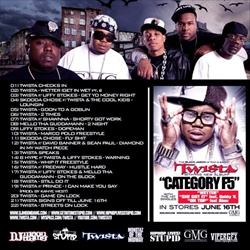 Twista The Calm Before The Storm Back Cover