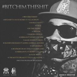 Tyga #BitchImTheShit Back Cover