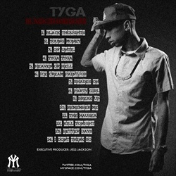 Young Tyga Black Thoughts Back Cover