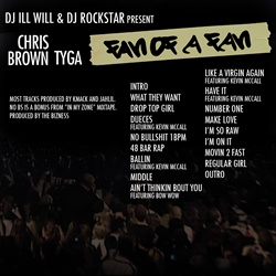 Tyga & Chris Brown Fan of A Fan Back Cover