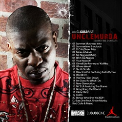 Uncle Murda Summer Time Shootouts Back Cover