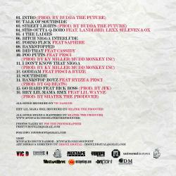 Vic Damone T.O.S. Talk Of Southside Back Cover