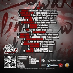 Waka Flocka & Slim Dunkin Twin Towers 2 (No Fly Zone) Back Cover