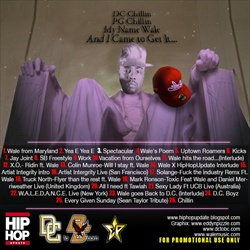 HipHopUpdate & DCtoBC Wale 'Road To Attention' Back Cover