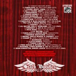 DJ Wats & DJ Illmatic The Tonight Mixtape With Jay Leno Back Cover