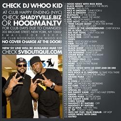 Hood Newz, DJ Whoo Kid & Hoodman TV Obama's Happy Ending Back Cover
