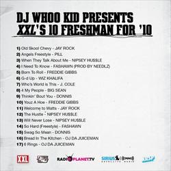 DJ Whoo Kid & XXL 10 Freshman For 10 Back Cover