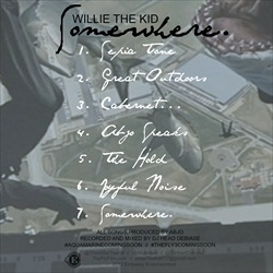 Willie The Kid Somewhere EP Back Cover