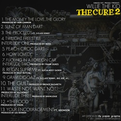 Willie The Kid The Cure 2 Back Cover