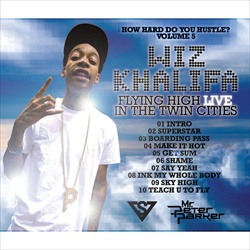 Wiz Khalifa Flying High In Twin Cities Back Cover