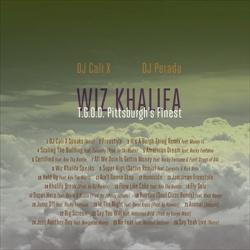 DJ Cali X, DJ Perada & Wiz Khalifa T.G.O.D. Pittsburgh's Finest Back Cover