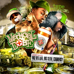 Wiz Khalifa, Big Sean & Curren$y Medicinal Dose Front Cover