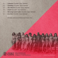 Wiz Khalifa, Curren$y & Cookin' Soul Live En Concierto (EP) Back Cover