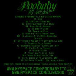 Poobaby & DJ Wizkid Fly Boy Status Back Cover