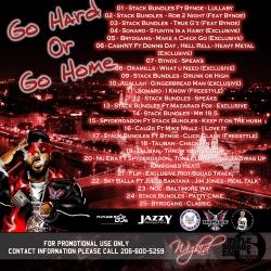 DJ WizKid Go Hard Or Go Home Back Cover