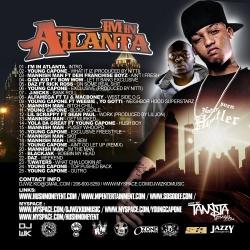 DJ WizKid I'm In Atlanta Back Cover