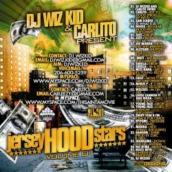 WizKid & Carlito Jersey Hood Stars Back Cover