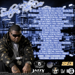 DJ WizKid Southern Take Over Mixtape Back Cover