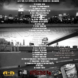 DJ WizKid Unsigned Hype Vol. 4 Back Cover