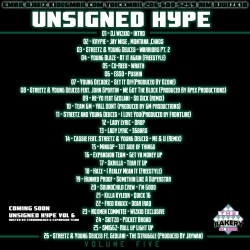 DJ WizKid Unsigned Hype Vol. 5 Back Cover