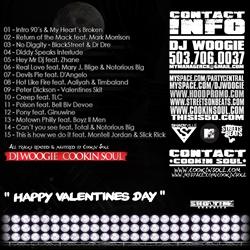 DJ Woogie & Cookin Soul 90s And My Heart's Broken Back Cover