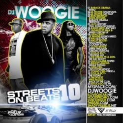 DJ Woogie Streets On Beats 10 Front Cover