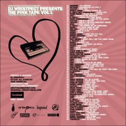 DJ Wrispect The Pink Tape Vol. 1 Back Cover