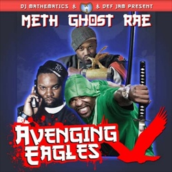 DJ Mathematics, Method Man, Raekwon & Ghostface Avenging Angles Front Cover