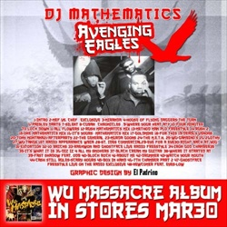 DJ Mathematics, Method Man, Raekwon & Ghostface Avenging Angles Back Cover