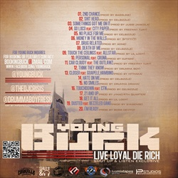 Young Buck Live Loyal, Die Rich Back Cover