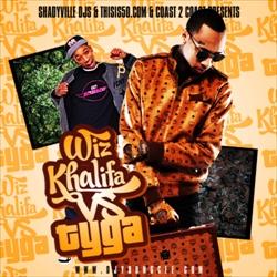 Wiz Khalifa VS Tyga Thumbnail