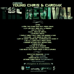 Young Chris & Cardiak The Revival Back Cover