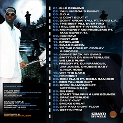 Young Dro & Don Cannon R.I.P. (I Killed That Sh*t) Back Cover