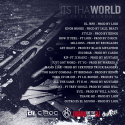 Young Jeezy Its Tha World Back Cover