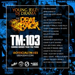 DJ Drama & Young Jeezy The Real Is Back Back Cover