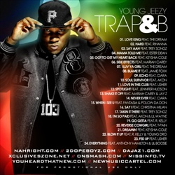 DJ Envy & Young Jeezy Trap & B Back Cover
