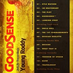 Young Roddy Good Sense Back Cover