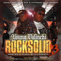 DJ DCeezy & Young Valinchi Rock Solid 3 Front Cover