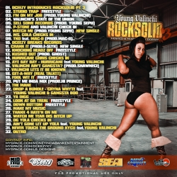 DJ DCeezy & Young Valinchi Rock Solid 3 Back Cover